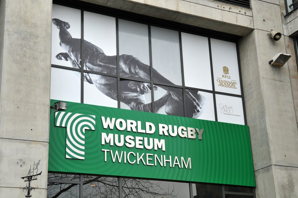 Twickenham Stadium Tour and World Rugby Museum Entry Ticket